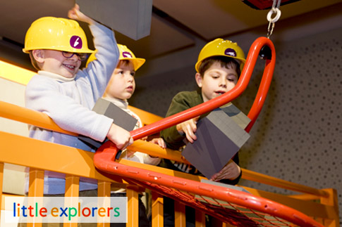 Let your kids spend a day at Little Explorers for an enriching edutainment experience for AED 140 – Admission for 1 adult included