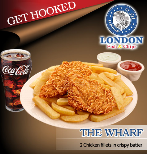 London fish chips value voucher 10 outlets for Fish and chips london