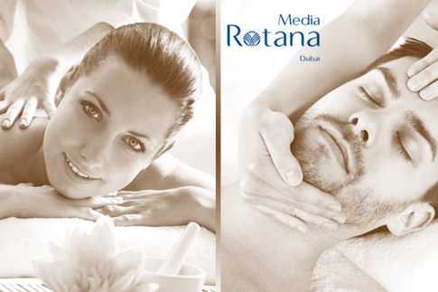 Pamper yourself with a massage, hydrating facial and gym, pool and Jacuzzi access for options starting at AED 149 at Media Rotana, Dubai.